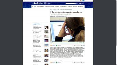 Sicurezza sul lavoro e Intelligenza Artificiale: l'ANSA parla del nuovo progetto Sinergest