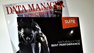 Sinergest Suite sulla quarta di copertina di Data Manager
