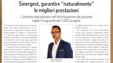 Sinergest sul numero di Data Manager dedicato alle aziende Ict top 100 in Italia