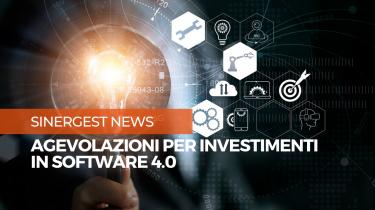 Nuove agevolazioni per gli investimenti in software 4.0