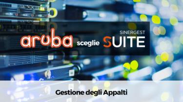 Gestione Appalti: Aruba S.p.a. si affida a Sinergest Suite