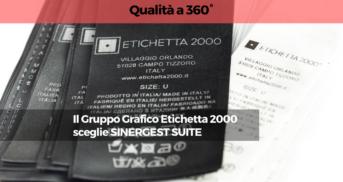 Il Gruppo Grafico Etichetta 2000 sceglie Sinergest Suite