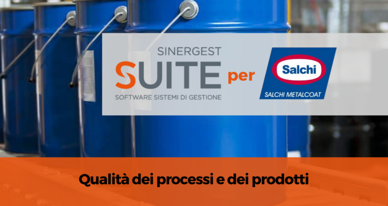Salchi Metalcoat ha scelto Sinergest Suite