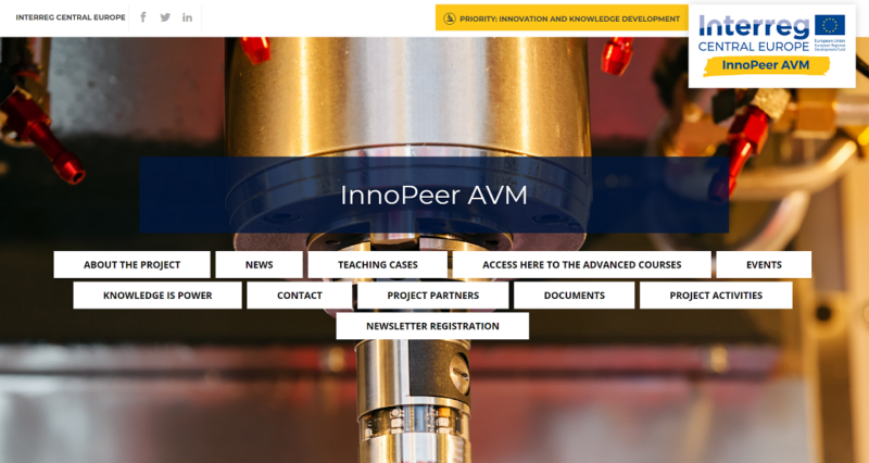 Sinergest Suite tra i software del progetto europeo InnoPeer Avm sull'Industria 4.0