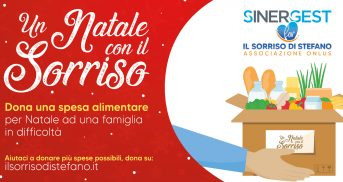 Sinergest For e Il Sorriso di Stefano insieme per il Natale 2020